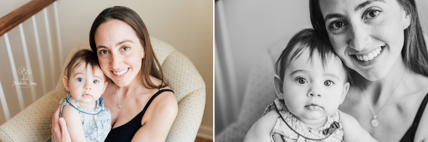 Mommy and Baby Photo Session