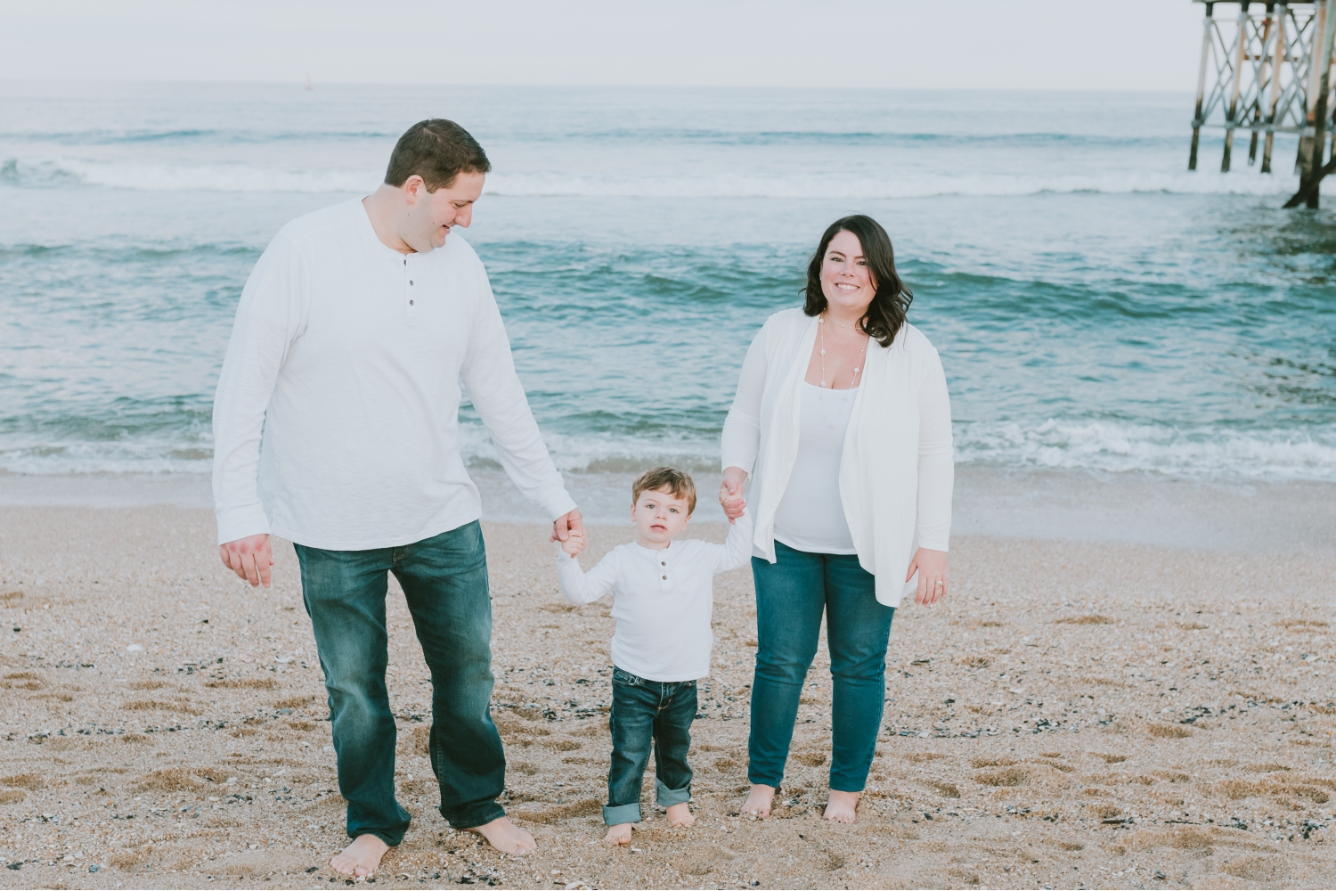 Family Beach Photography Session Belmar New Jersey