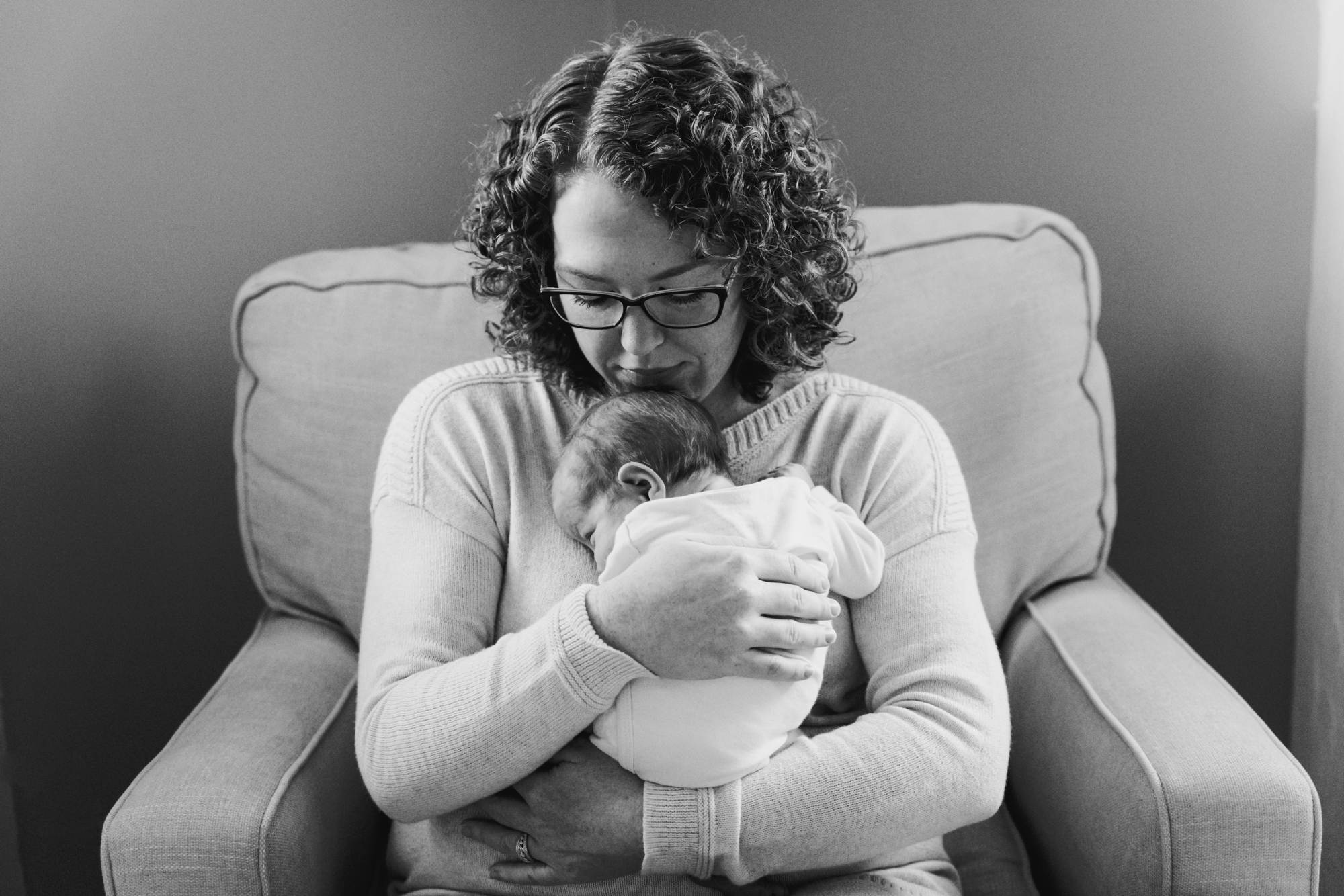 In-Home Lifestyle Newborn Pictures Monmouth County New Jersey