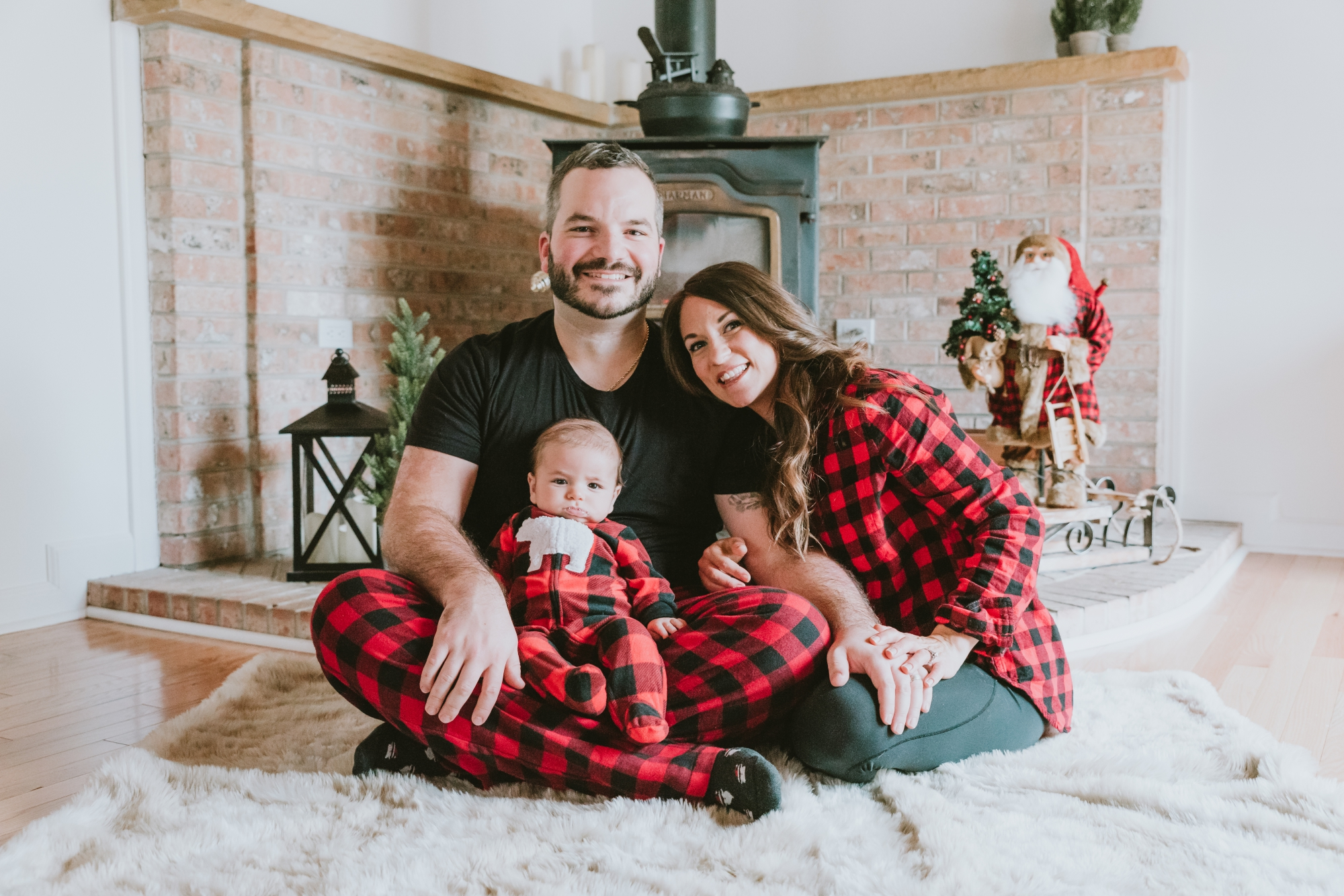 In-Home Family Christmas Holiday Pictures Monmouth County New Jersey