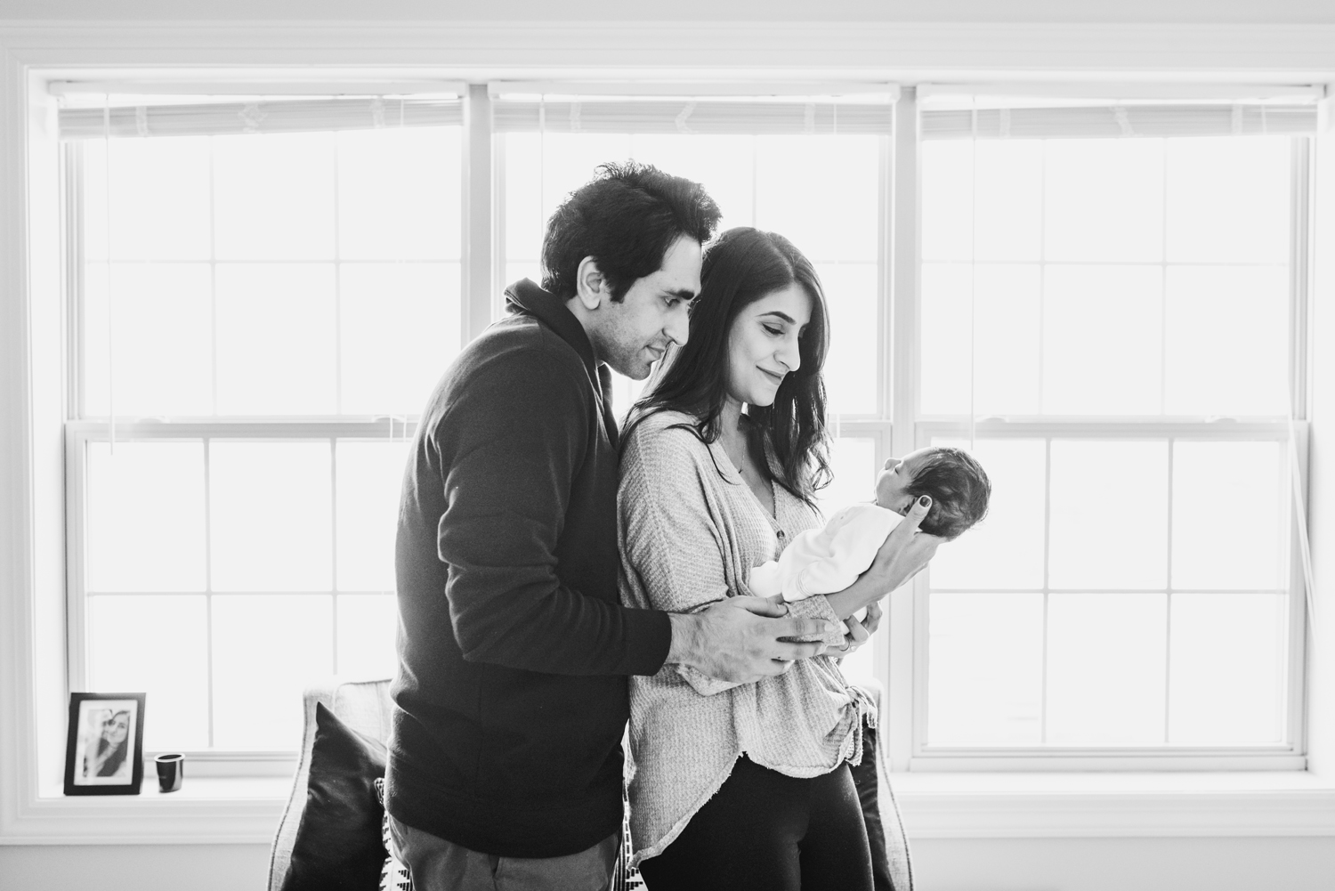 In-Home Lifestyle Newborn Photography Session. Middlesex County New Jersey