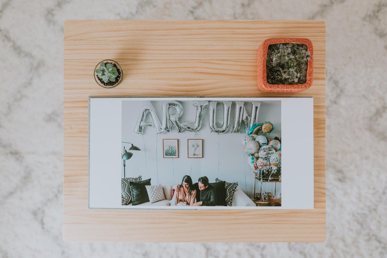 Custom Linen Heirloom Photo Album