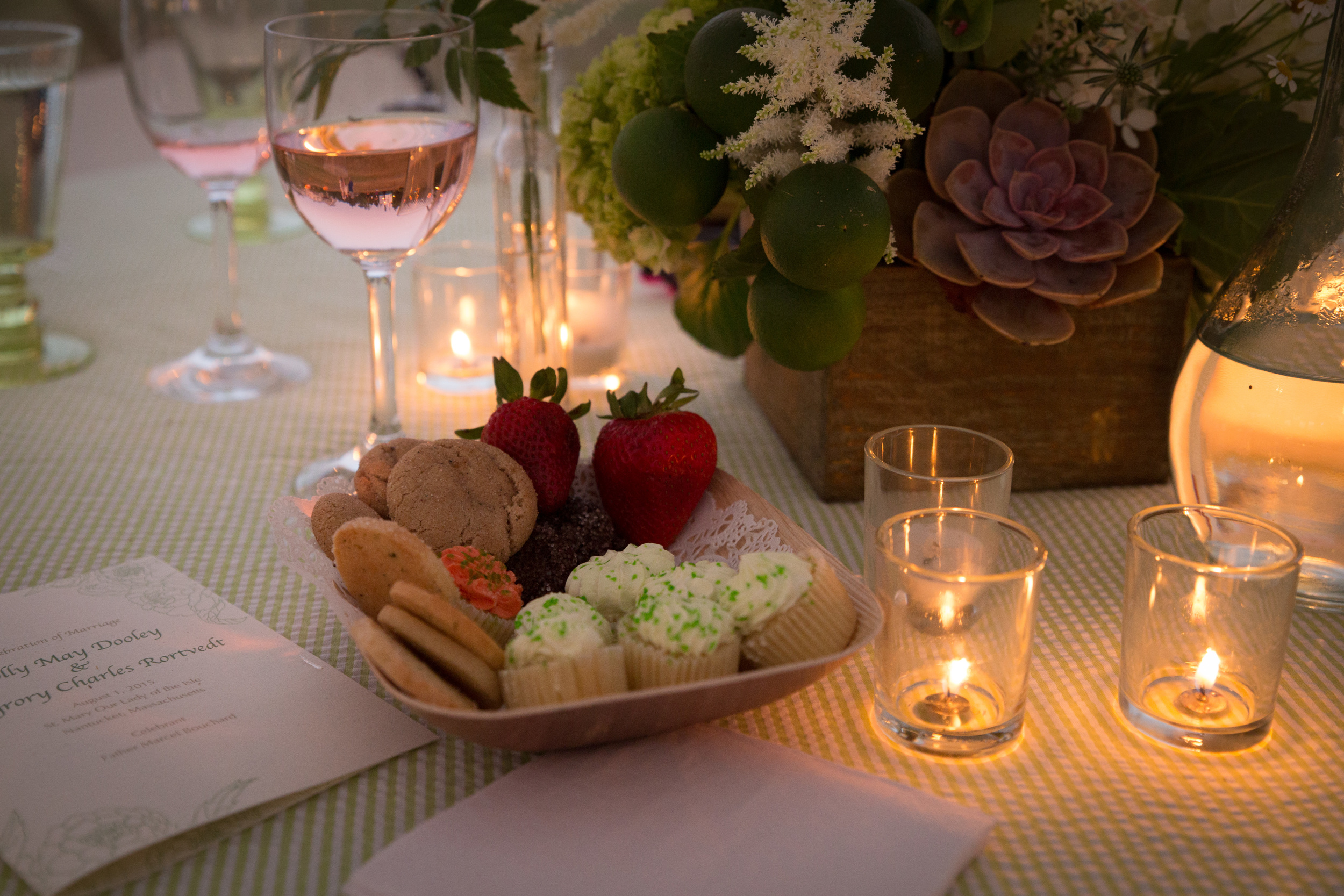 Collections from our reserve wines and custom desserts, available upon request.