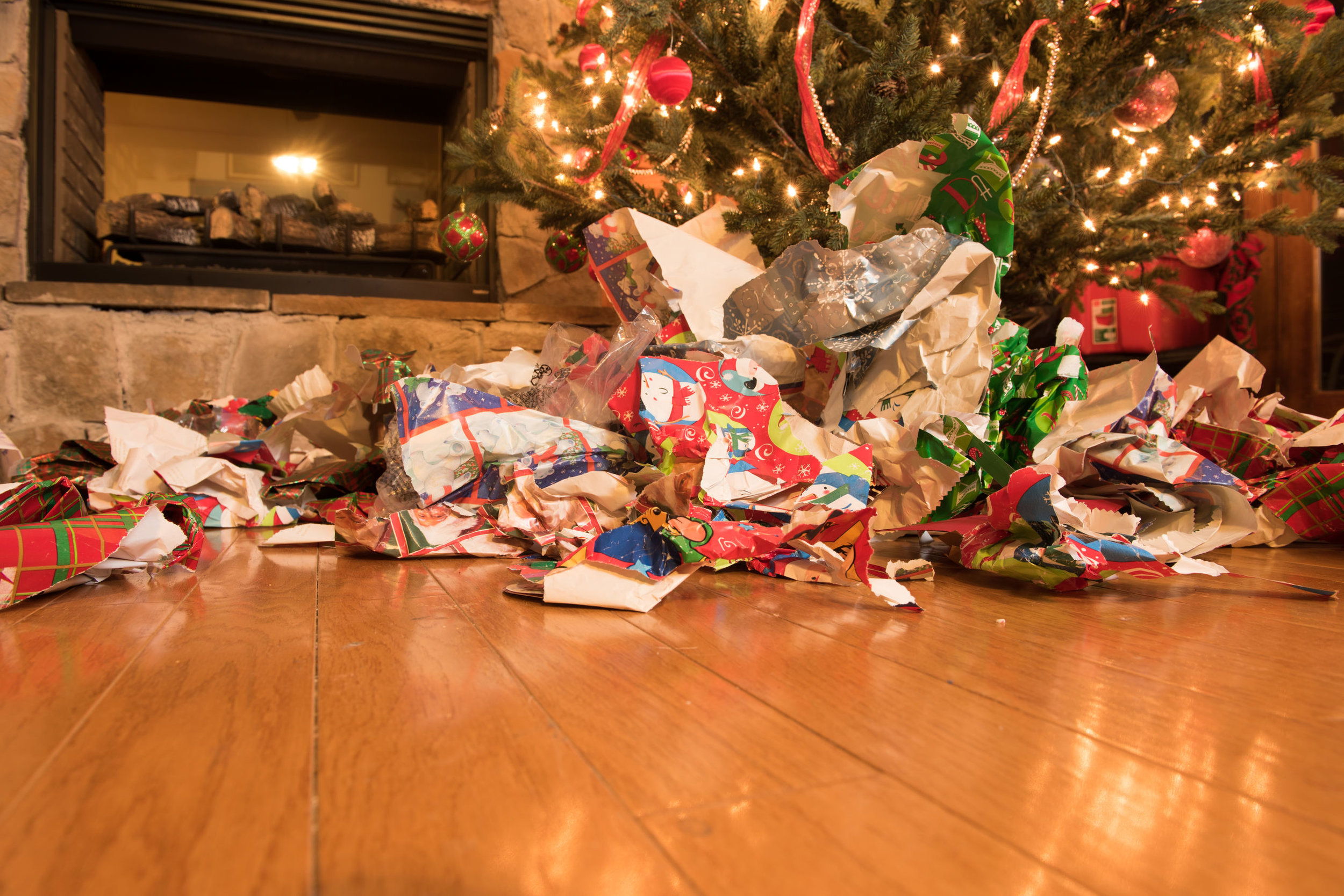 Mess after Christmas