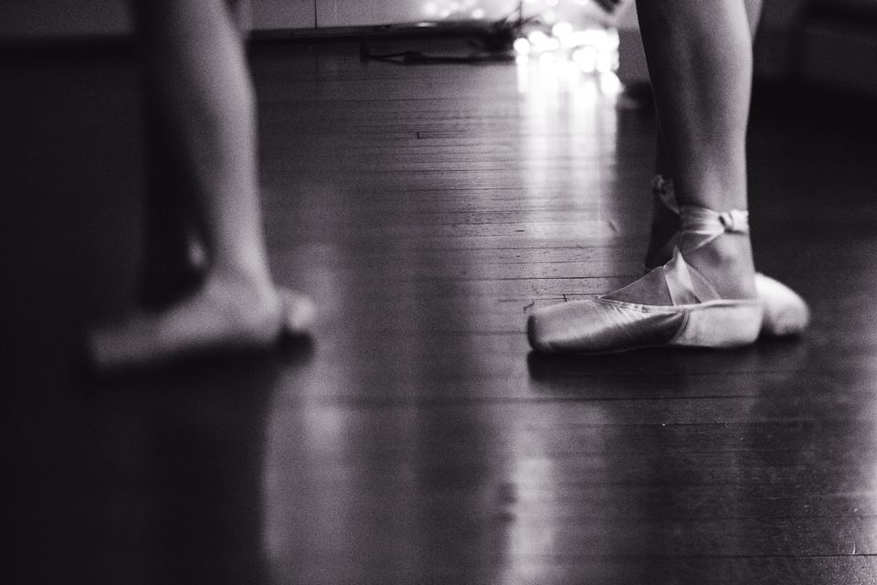 Wakefield RI portrait photographer ballerinas toe shoes