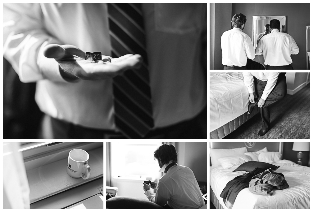 Providence RI wedding photography collage at the Biltmore