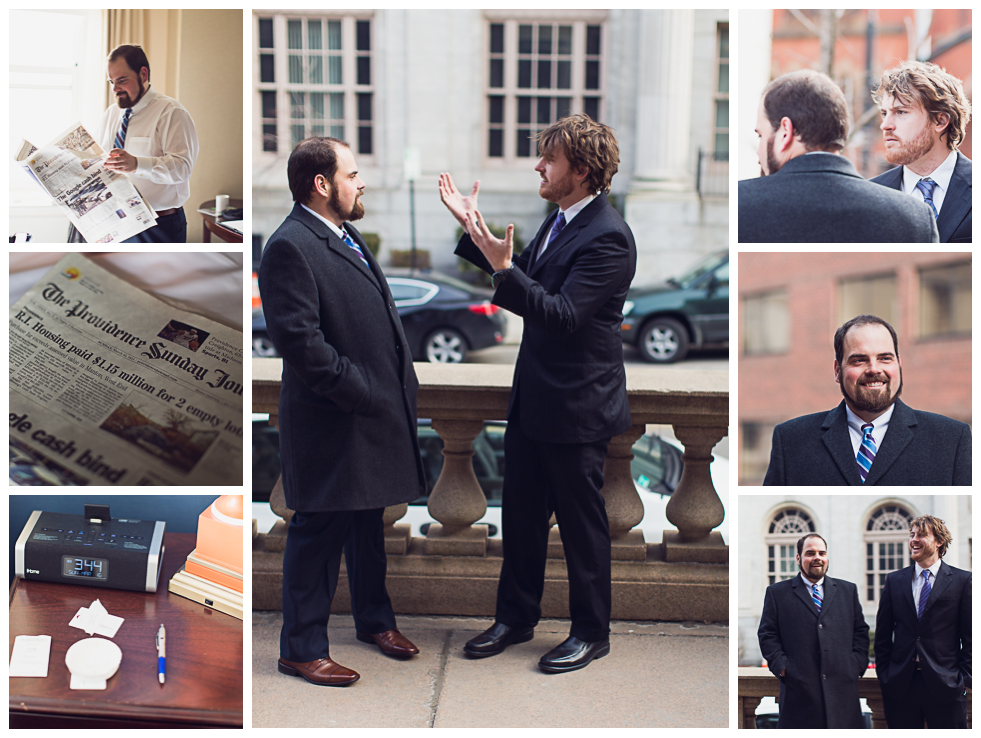 Providence RI wedding photography collage