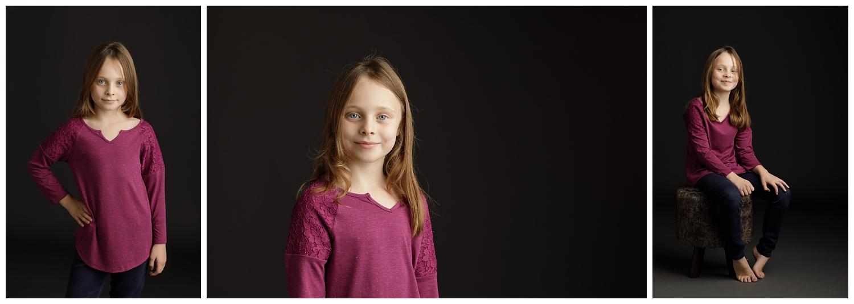 child photographed in studio in Wakefield, RI