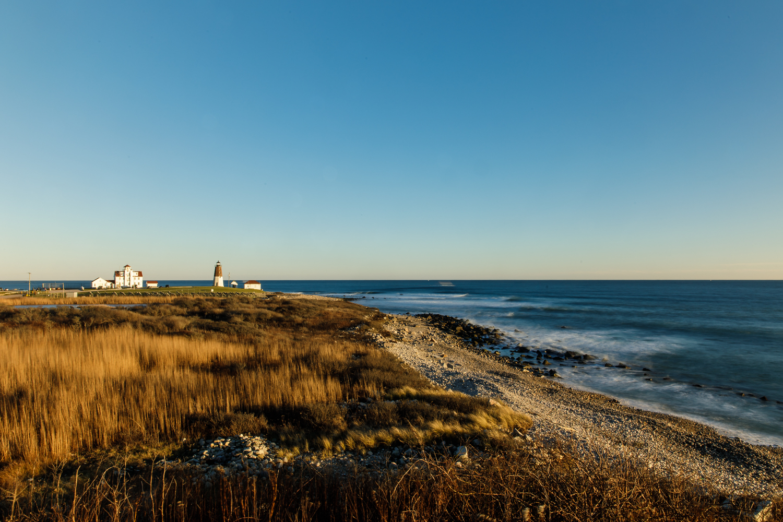 Point Judith Lighthouse in Narragansett, RI
