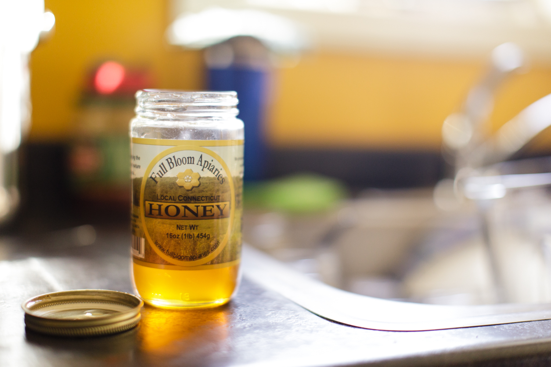Local honey in Wakefield, RI