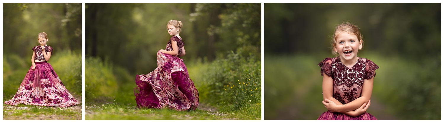 Princess photo session in South Kingstown, RI