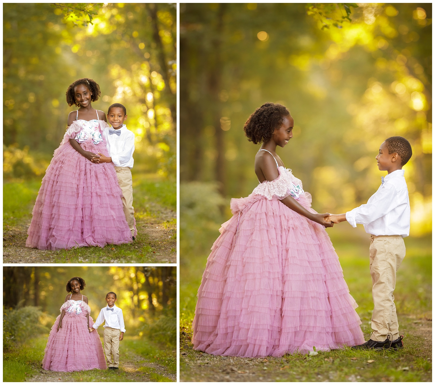 Brother and sister portrait in South Kingstown, RI