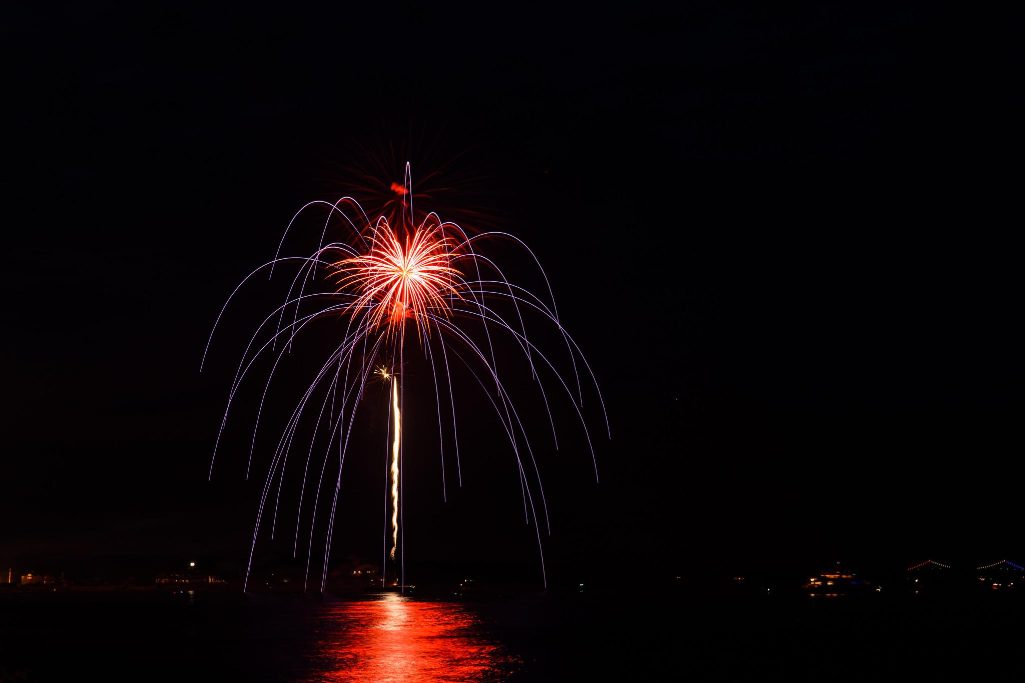 fireworks in Narragansett, RI