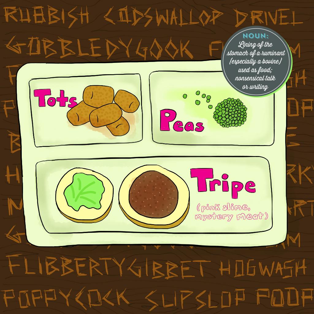 Visual Vocabulary: tripe, Julie Rado Design