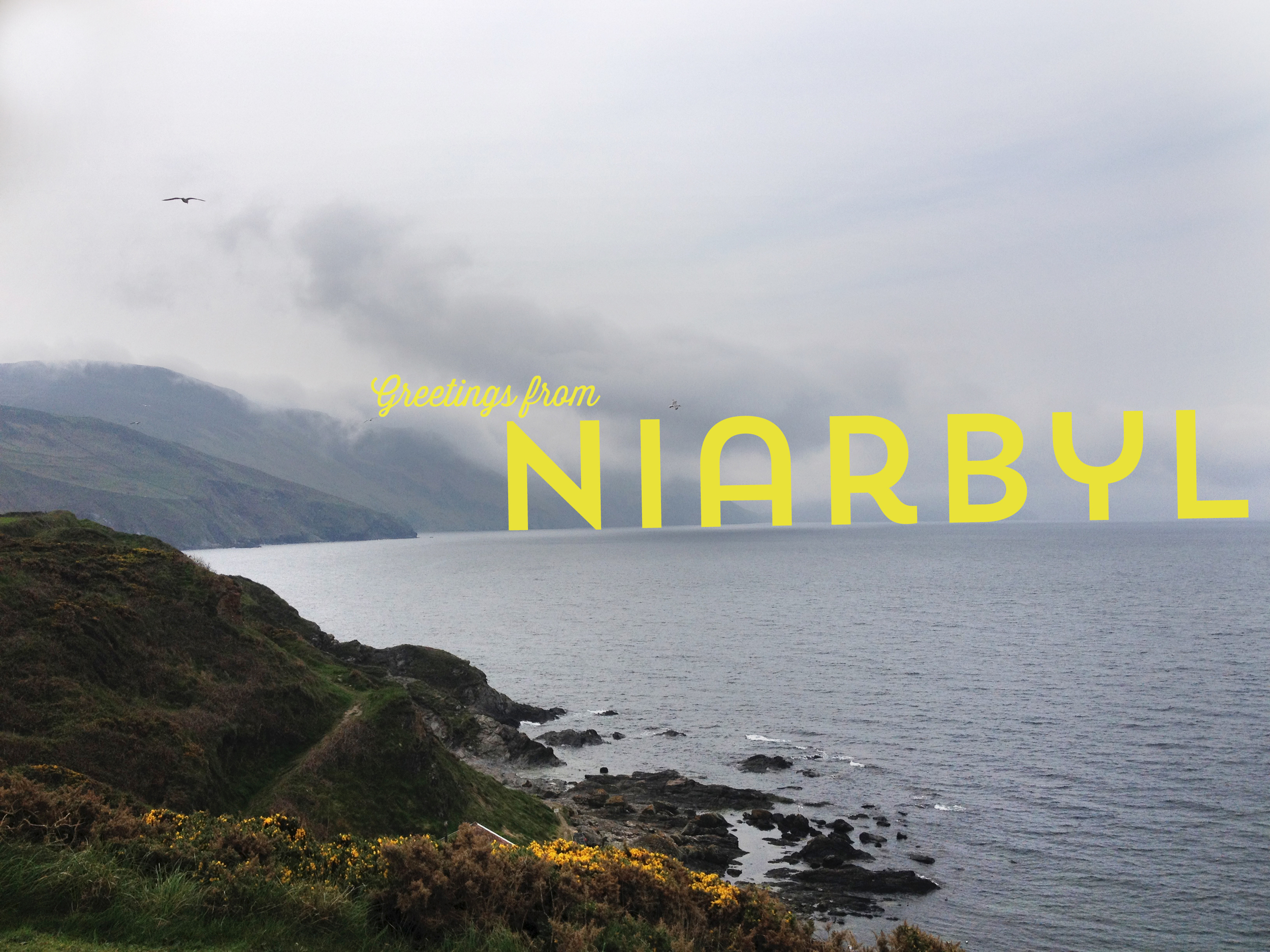Another (less sunny) view of Niarbyl.