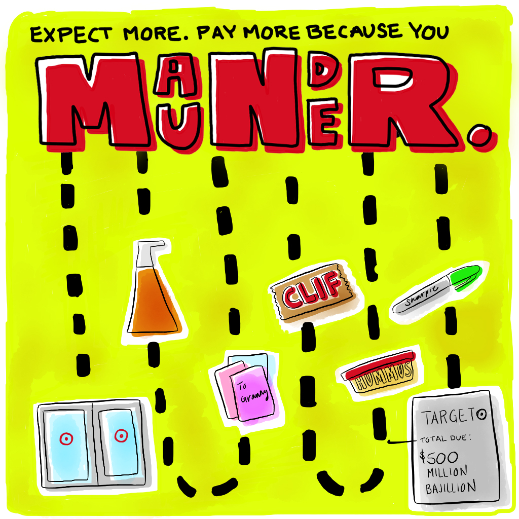 Visual Vocabulary: maunder, Julie Rado Design