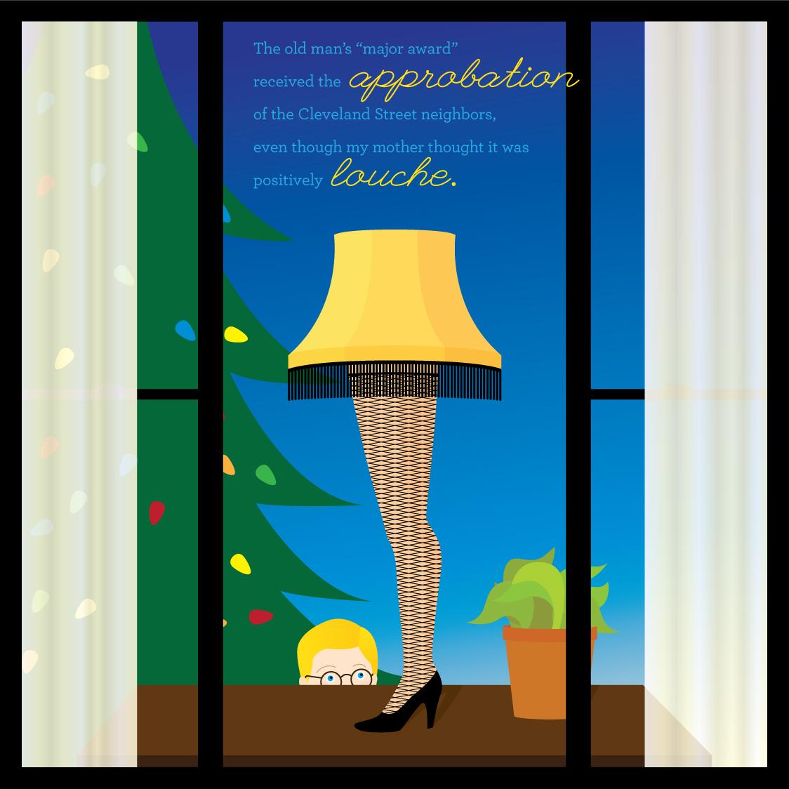 Visual Vocabulary: approbation and louche, Julie Rado Design
