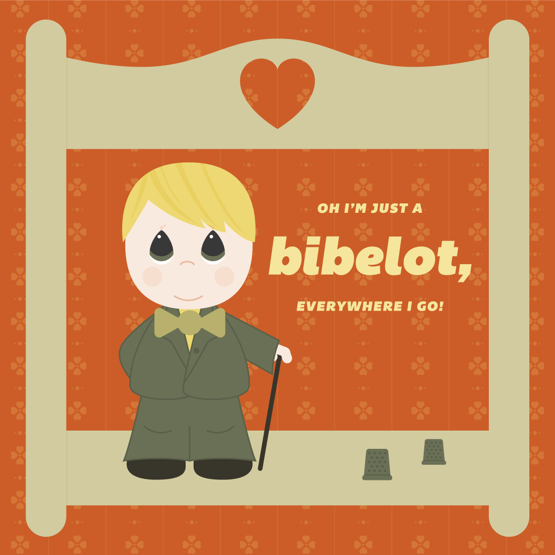Visual Vocabulary: bibelot, Julie Rado Design