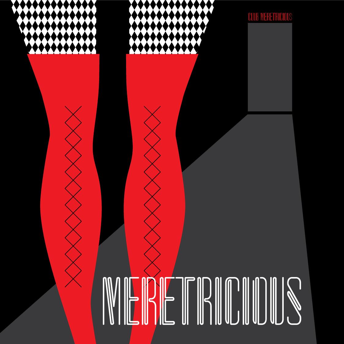 Visual Vocabulary: meretricious, Julie Rado Design