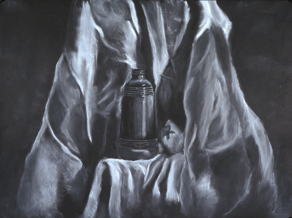 Still Life; pastel drawing