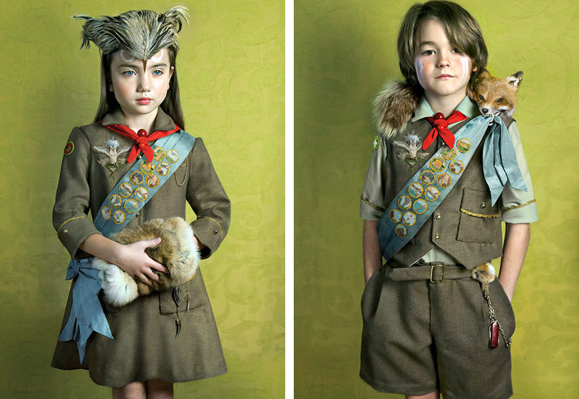"From the series entitled ""Owl Scouts"" by Todd Baxter."
