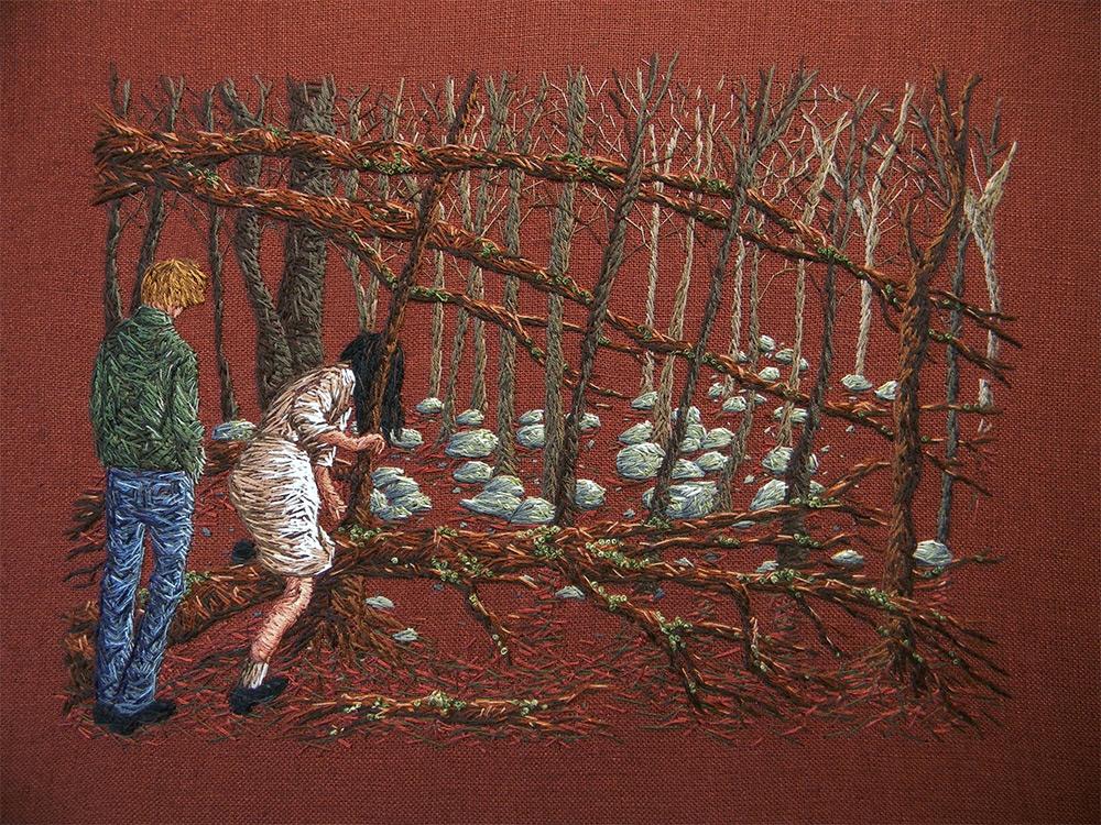 """Some imagined future"" by Michelle Kingdom."