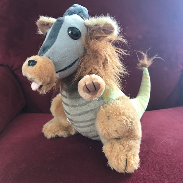 Fuzzy Dinosaur stuffed animal