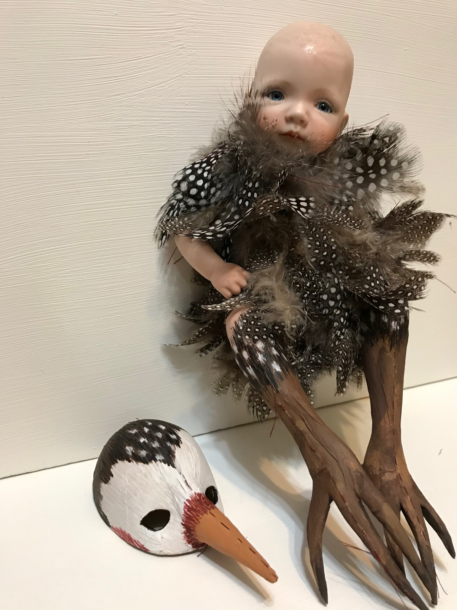 art doll bird