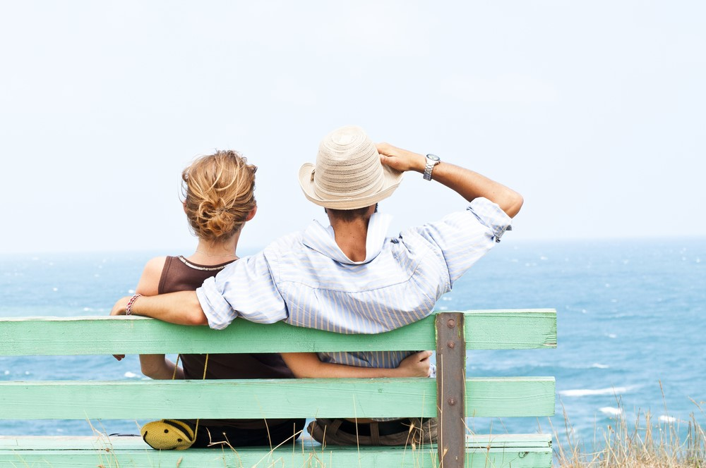 Couple on bench looking out to sea.jpg