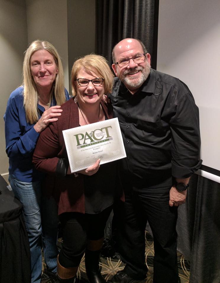 PACT Institute Level 1 (Foundation) & Level 2 (Advanced) Training Melbourne - Melissa assisted Dr. Stan Tatkin in Australian Couple Therapists Training in Melbourne-2017