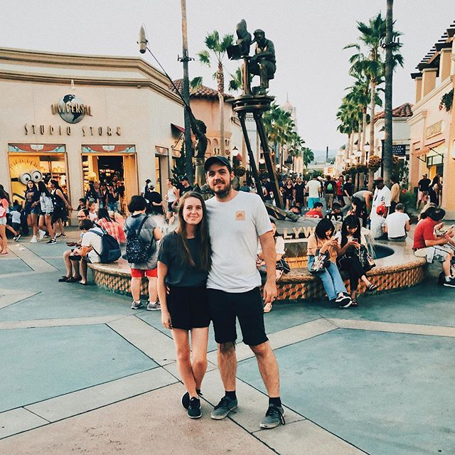 Took this little minion to Universal 😘 #2019immeasurablymore