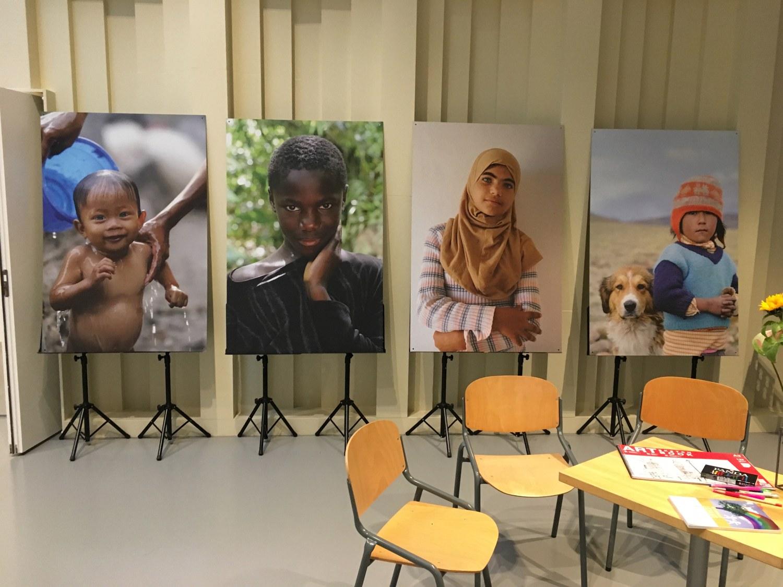 De geprinte beelden waren te zien tijdens de eindconferentie in Ede.