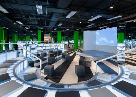 The Rem Koolhaas designed Imaginarium. Source: Dezeen.