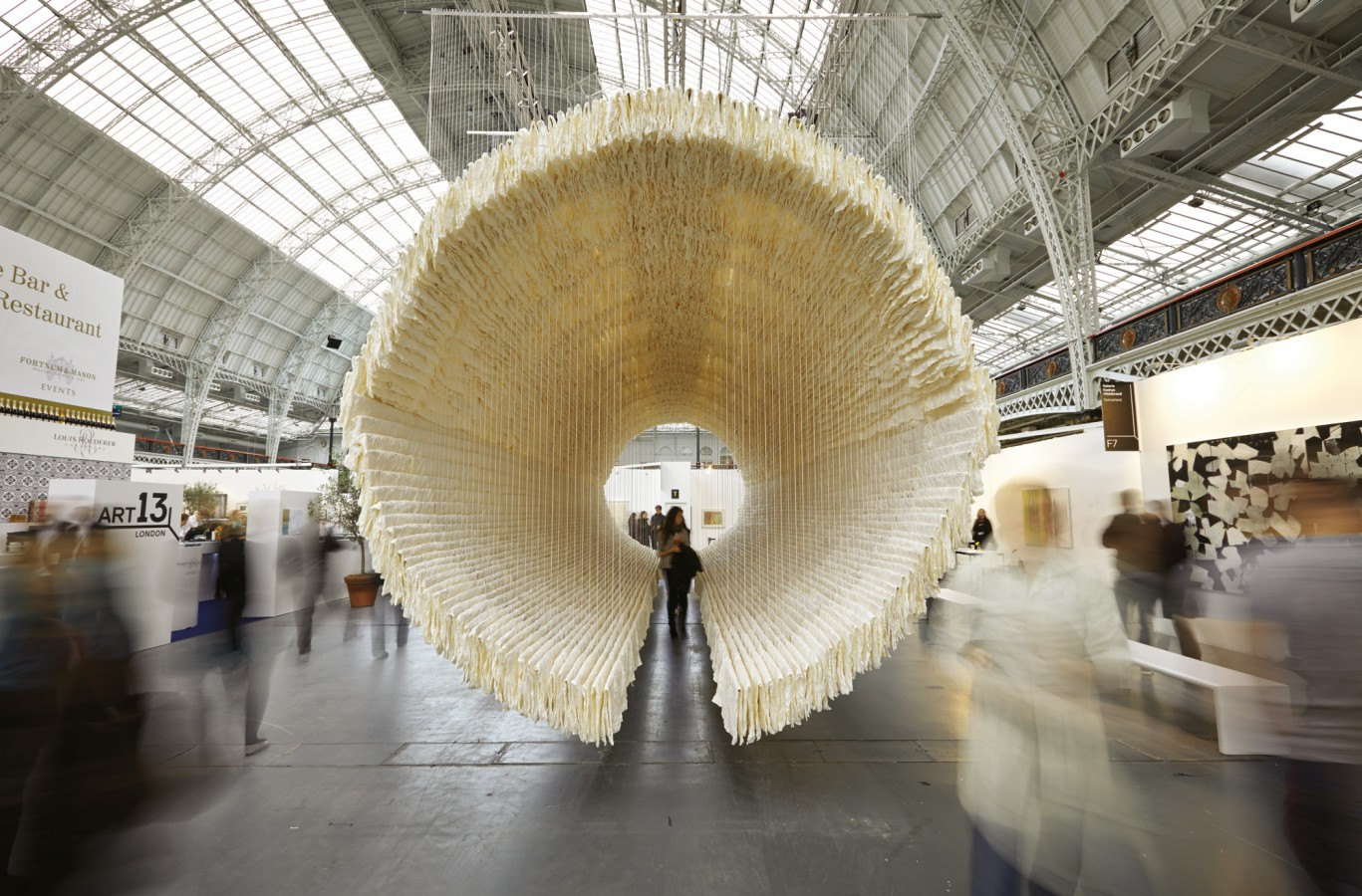 An installation at last year's show. Source: Art14.