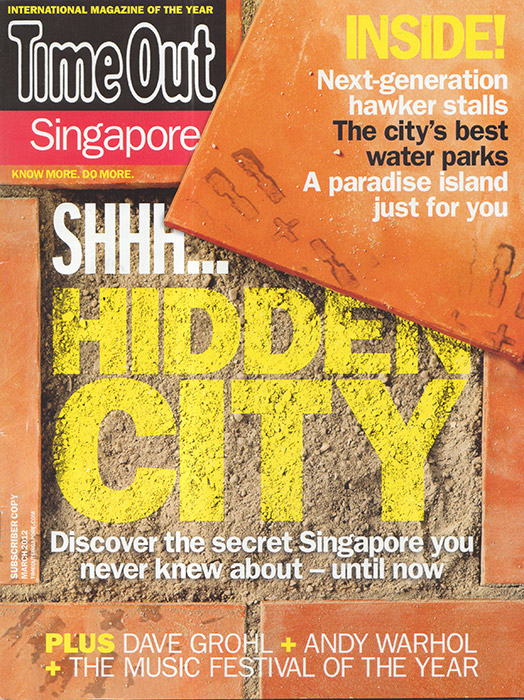 Time Out Singapore March 2012