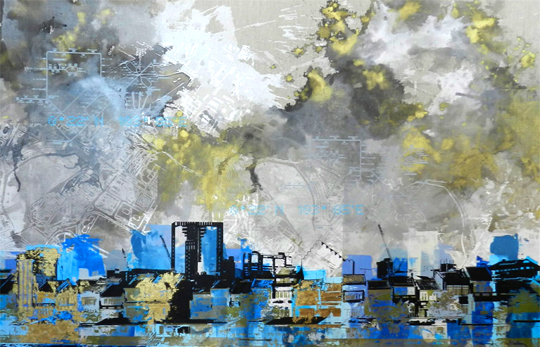 TITLE: Colours of Boat Quay