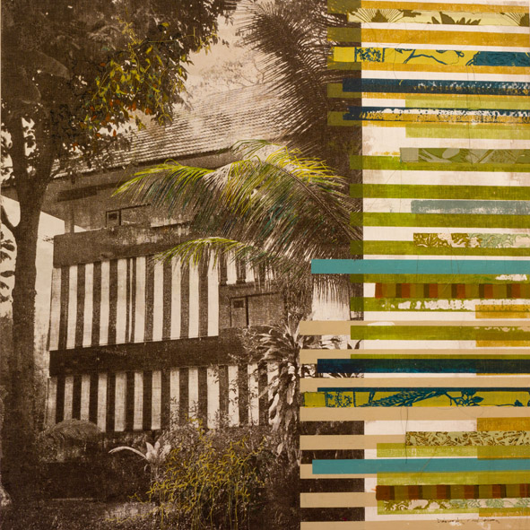 TITLE: Tiger Stripes in Green
