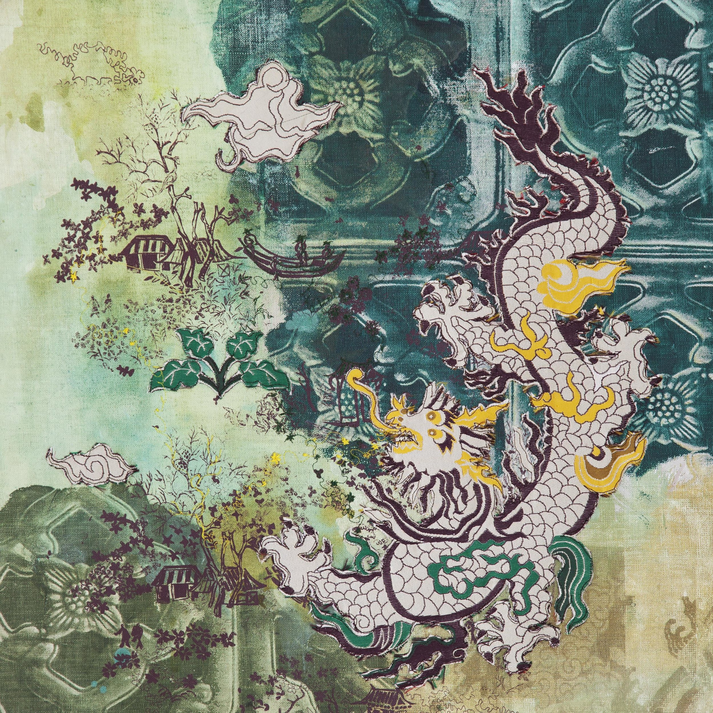 Title: Jade Dragon