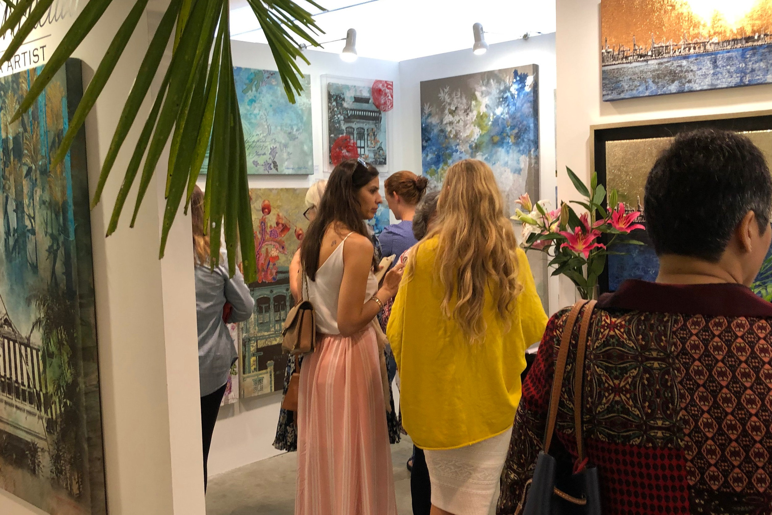 Affordable Art Fair - 2018, Singapore