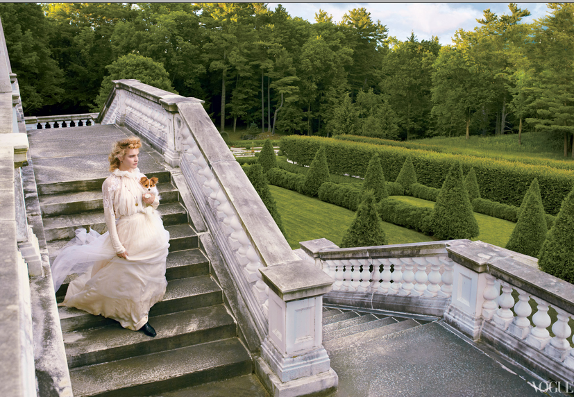 Vogue, September 2012  Photographed by Annie Leibovitz  Set Design by Mary Howard