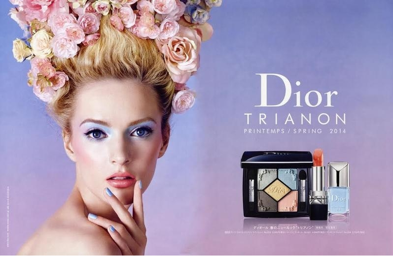 Dior Ad Campaign  Photographed by Steven Meisel   Set Design by Mary Howard