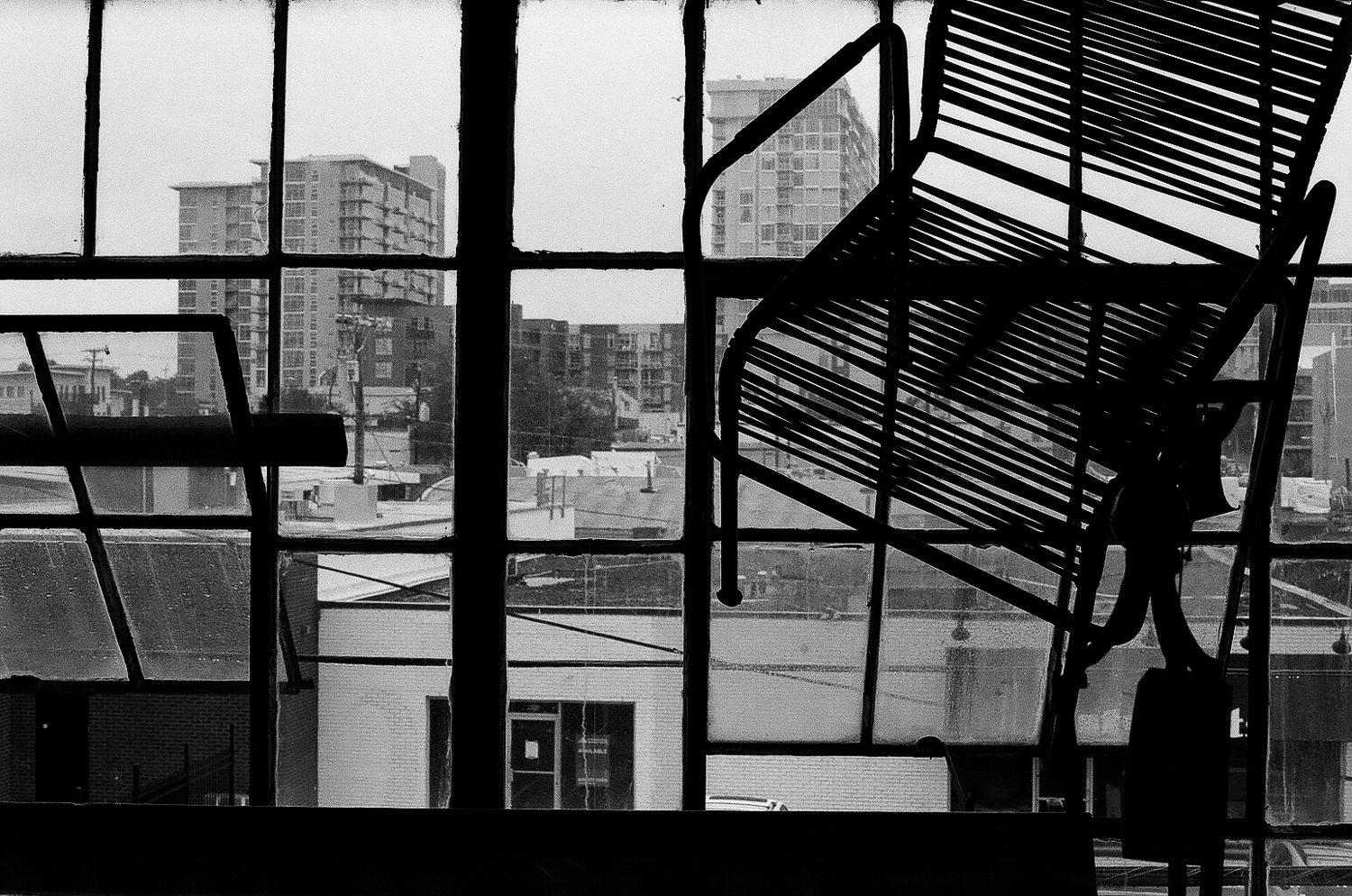 From inside the antique store, looking over Nashville (film).