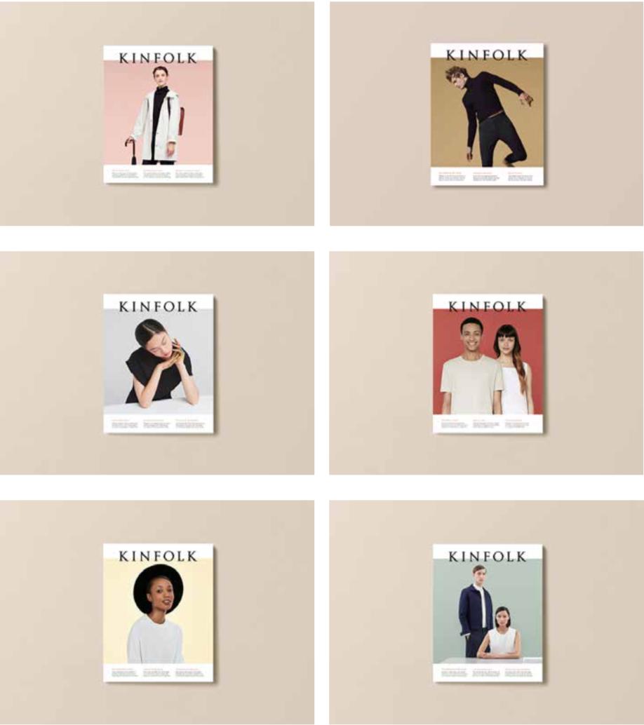 Kinfolk covers