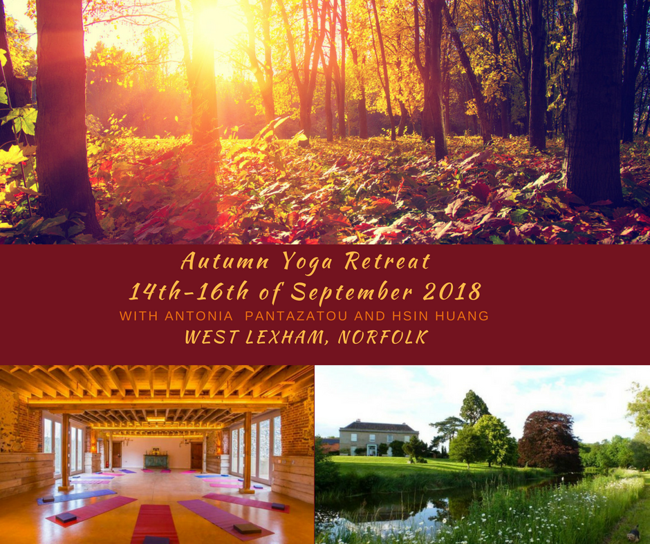 Autumn Yoga Retreat - 14th-16th September 2018