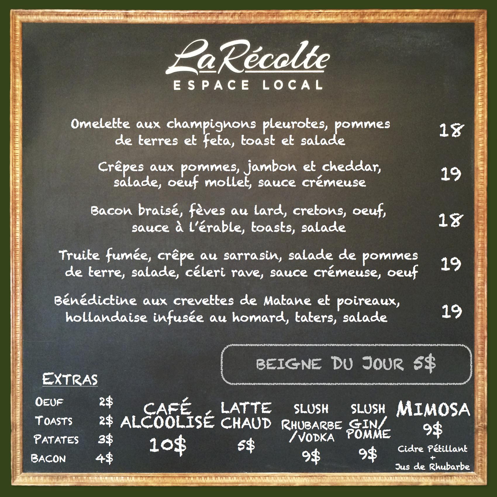 menu 30-1 avril, brunch loca bio montreal.png