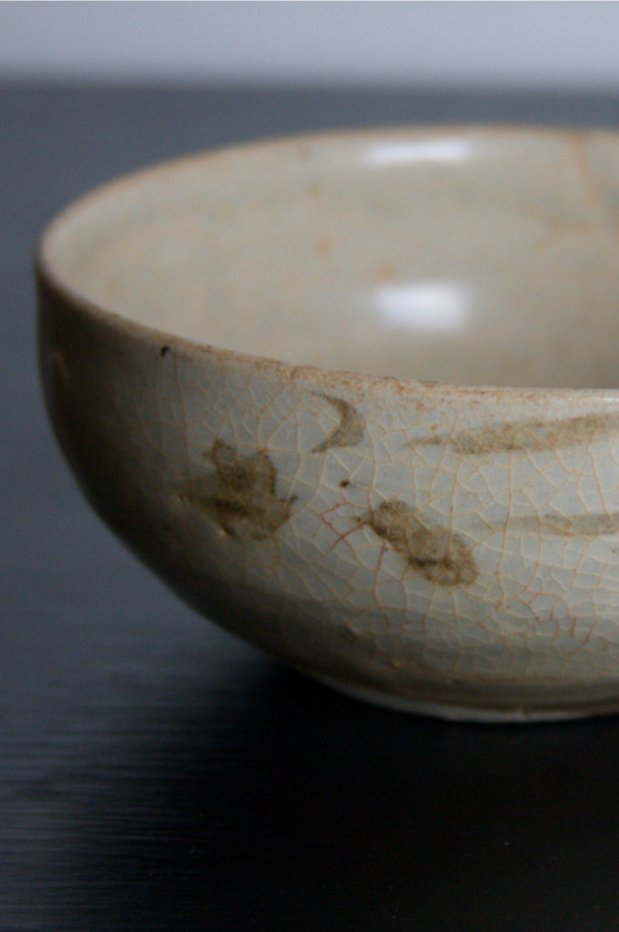 100 years old Vietnamese bowl I acquired during a trip to Vietnam.