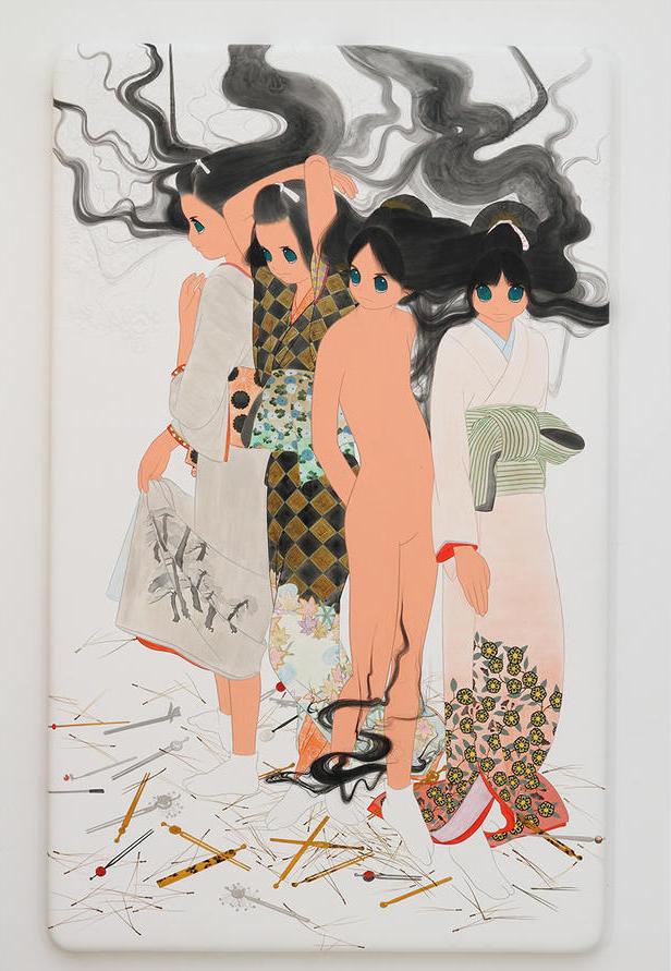 "Ai Yamaguchi ""shinchishirin"" at Joshua Liner Gallery"