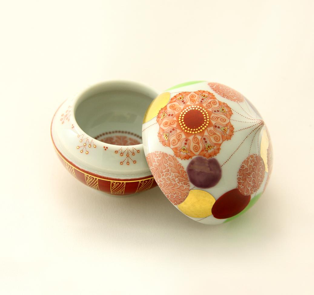 Akae Sake cup by Emi Oda