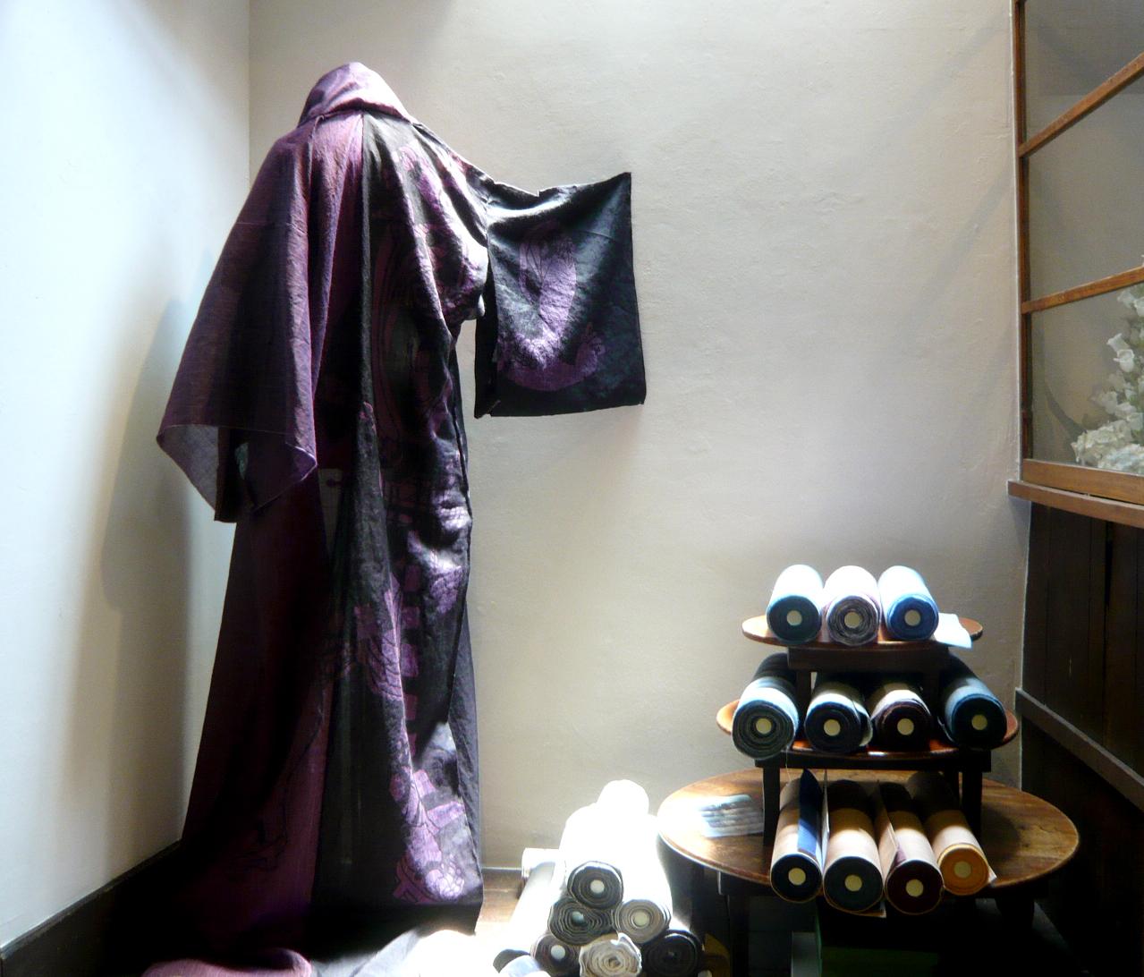 Eba Kimono displayed. All photos©Yasuhiko Sunahara