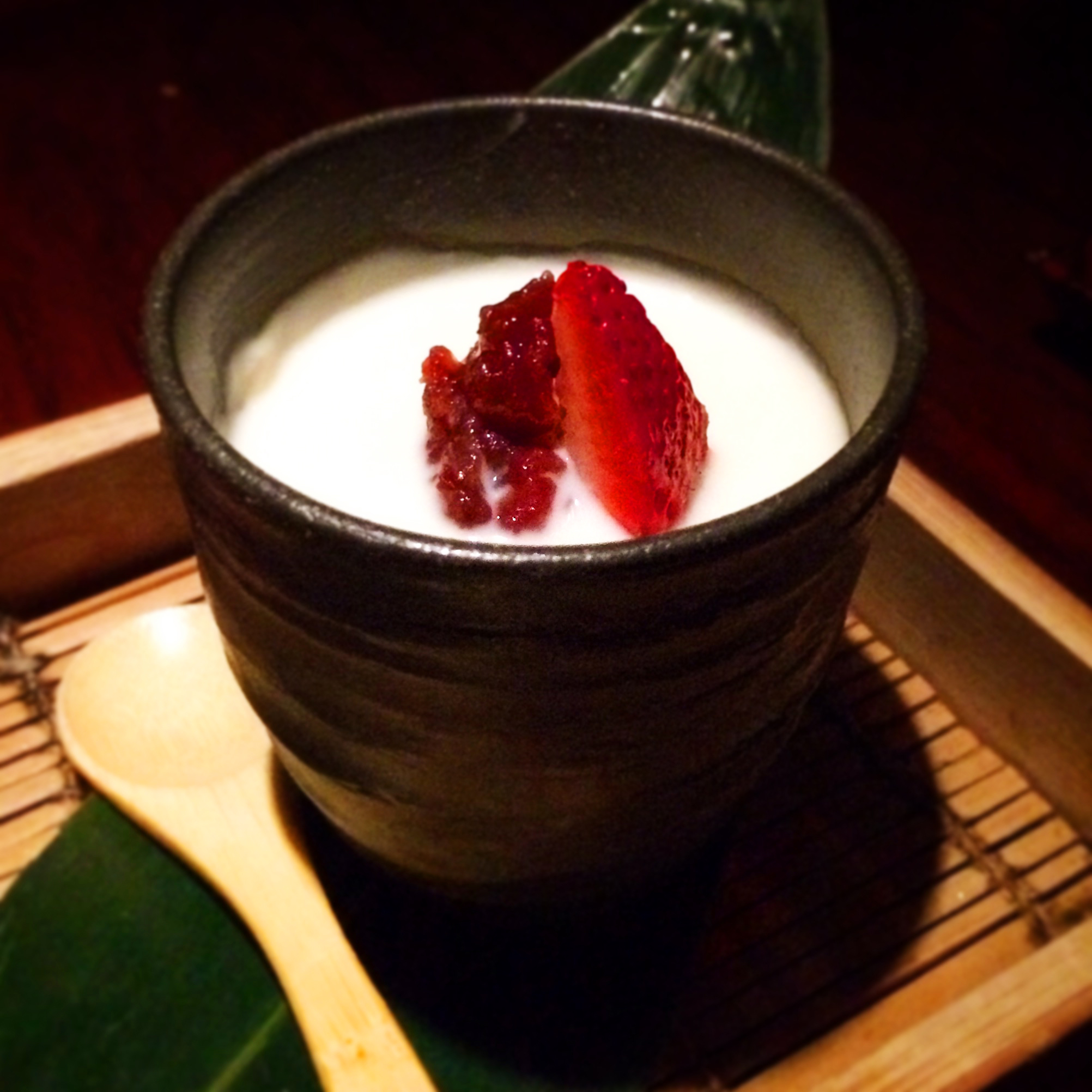 House made tofu desert, best use of tofu ever.